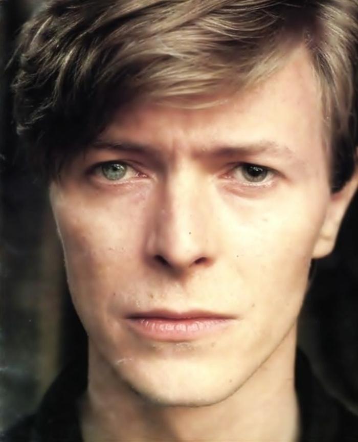 David Bowie Augen Ein Emblem Der Popkultur