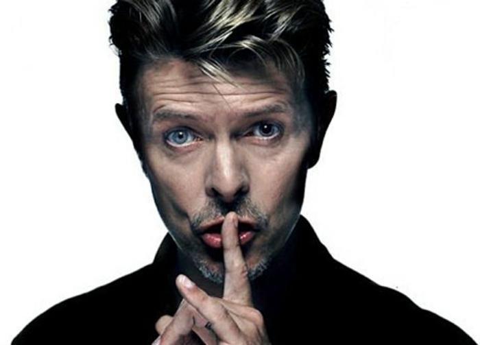 David Bowie Augen studio