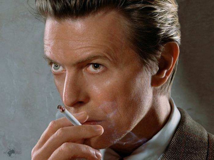 David Bowie Augen zwei augen zigarette