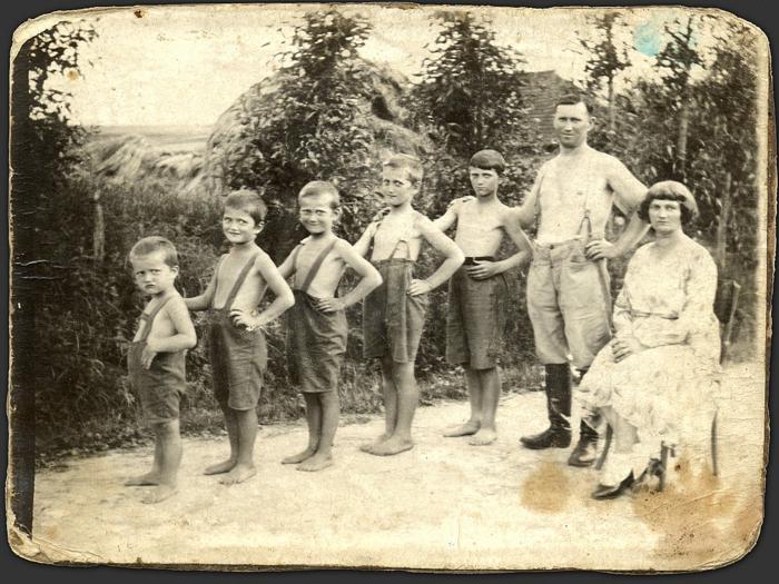 Familienstammbaum altes foto