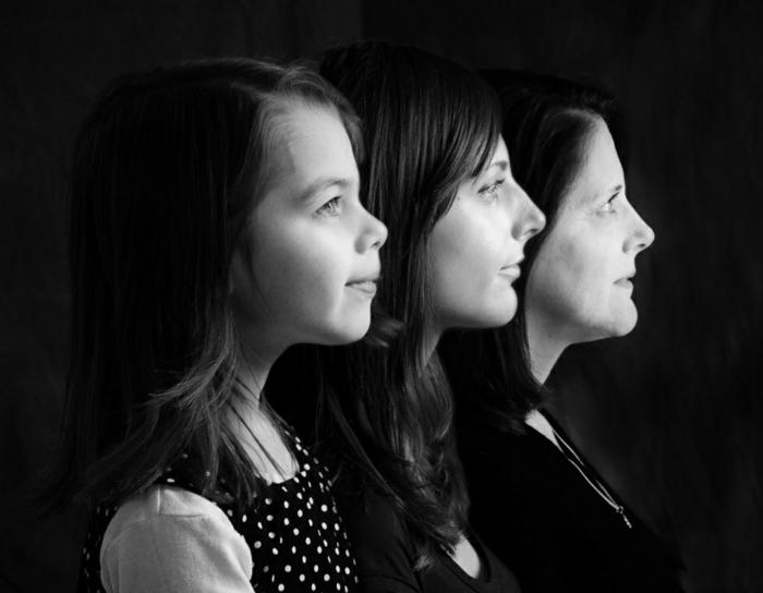Familienstammbaum drei generationen frauen