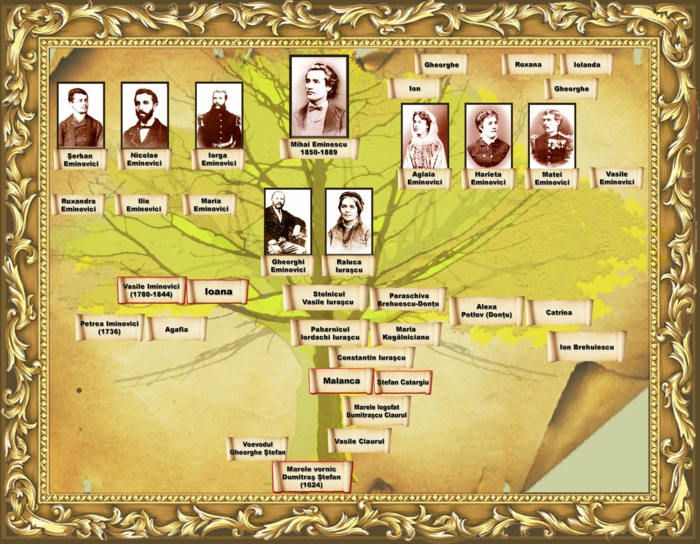 Familienstammbaum rumänisches beispiel