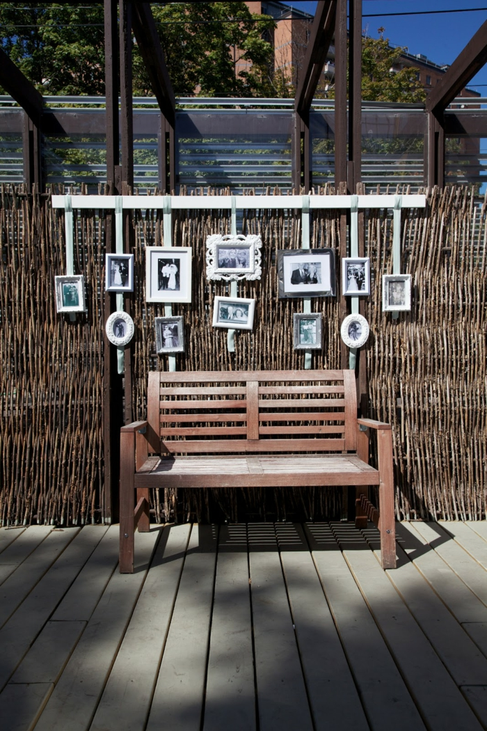 Fotowand ideen schaffen sie ihre eigene bildergalerie - Fotowand herz ...