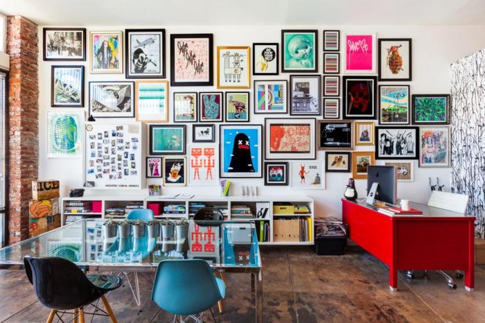 fotowand ideen schaffen sie ihre eigene bildergalerie dort wo sie sich zu hause f hlen. Black Bedroom Furniture Sets. Home Design Ideas
