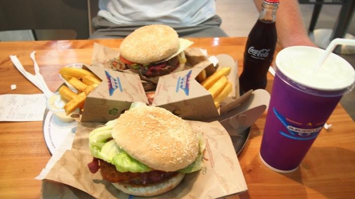 Gesunde Ernährung für Kinder fast food