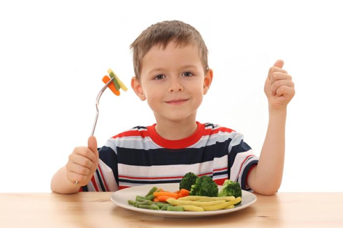 Gesunde Ernährung für Kinder langweiliges gemüse nicht