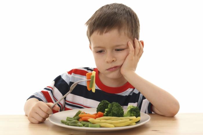 Gesunde Ernährung für Kinder gemüse langweiliges