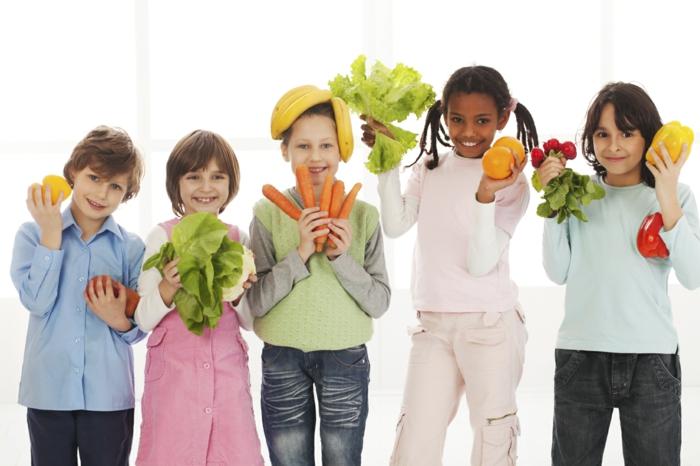 Gesunde Ernährung für Kinder titel