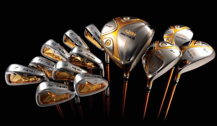 Golf Schläge set voll