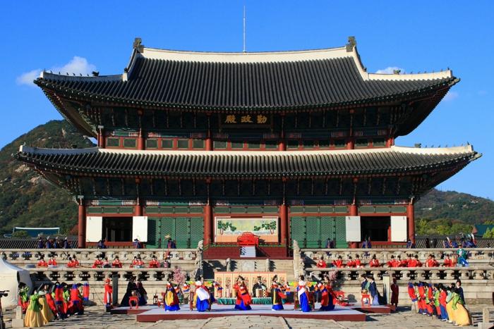 Hauptstadt von Südkorea Gyeongbok gung