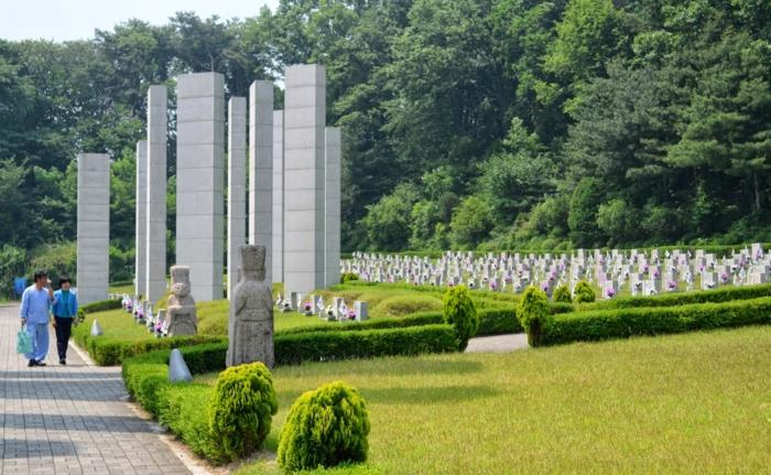 Hauptstadt von Südkorea park 4.19national  Gedenkstätte