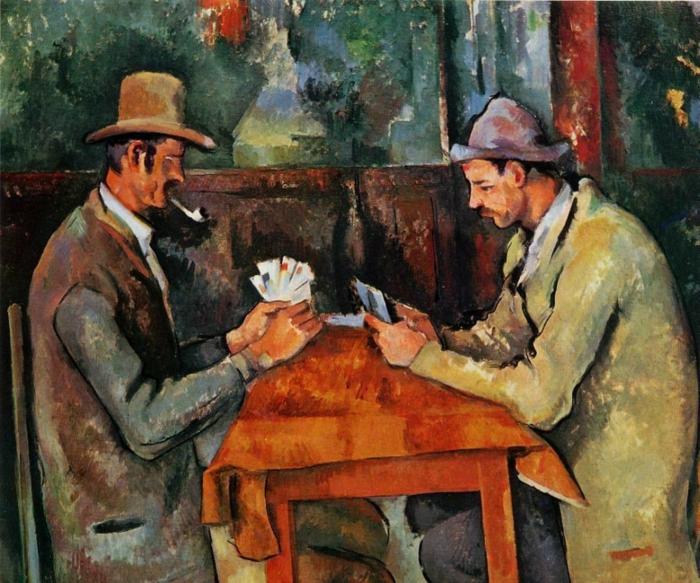 Impressionismus Kartenspieler Cezanne
