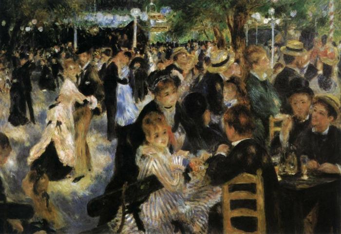 Impressionismus Renoir Tanz in