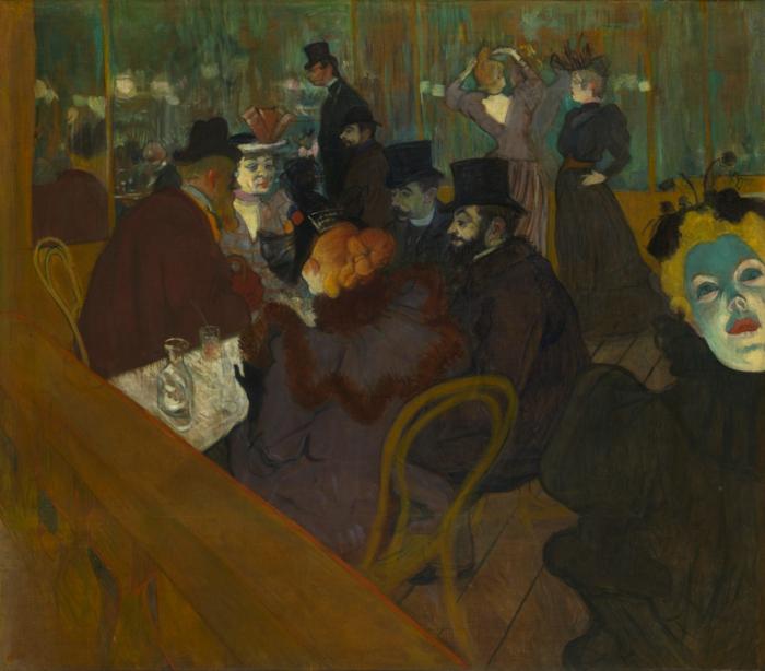 Impressionismus toulous  Lautrec bar