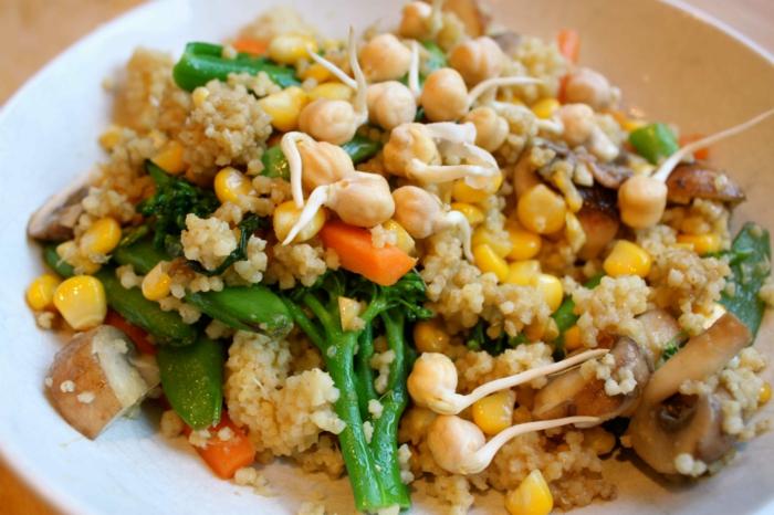 kichererbsen nährwerte gesunder salat