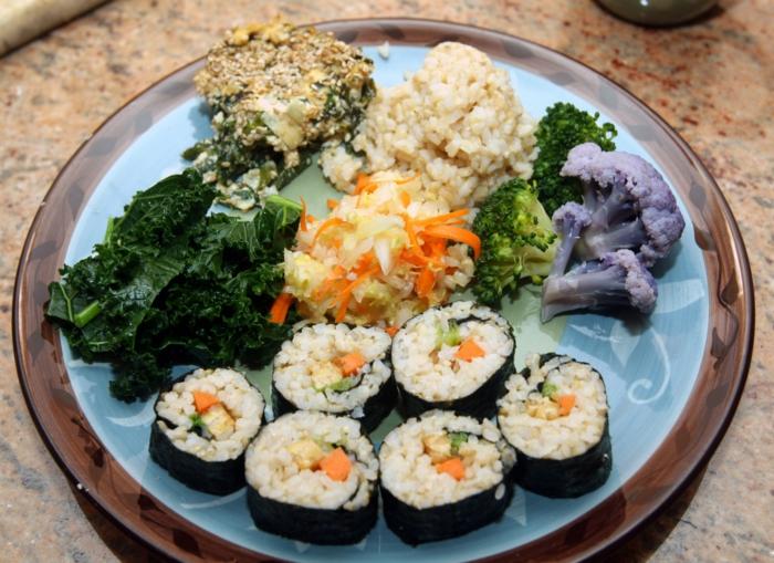 Makrobiotische Ernährung Sushi
