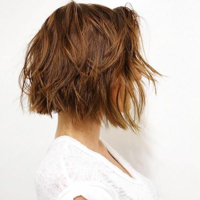Moderne Frisur romantische kurzhaarschnitte
