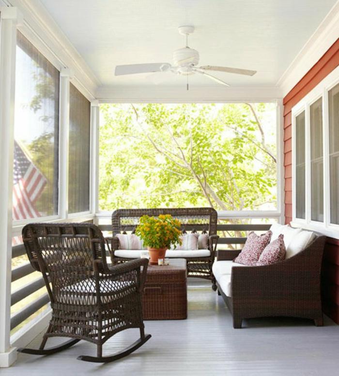 Moderne Terrassen deen rattan möbel set gartenmöbel