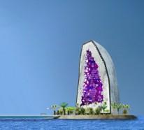 Modernes Bauen- Das unglaubliche Amethyst- Hotel in China