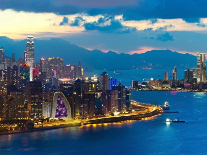 Modernes Bauen china amethyst zimmer luftbild