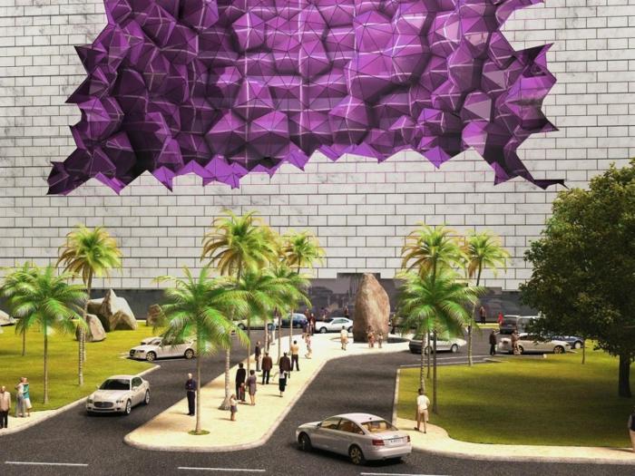 Modernes Bauen china amethyst zimmer parkplatz