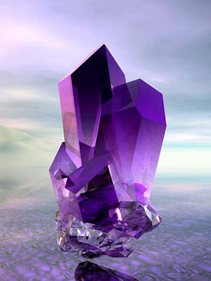 Modernes Bauen china amethyst kristall