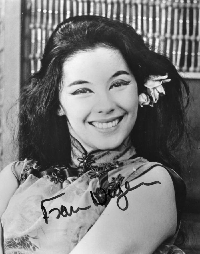 """Nancy """"Ka Shen"""" Kwan haarschnitt 50er jahre frisuren"""