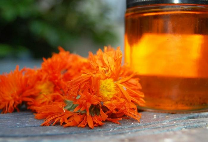 Ringelblumen oil hausgemacht