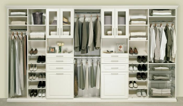 schlafzimmer mit begehbarem kleiderschrank eine perfekte ordnung. Black Bedroom Furniture Sets. Home Design Ideas