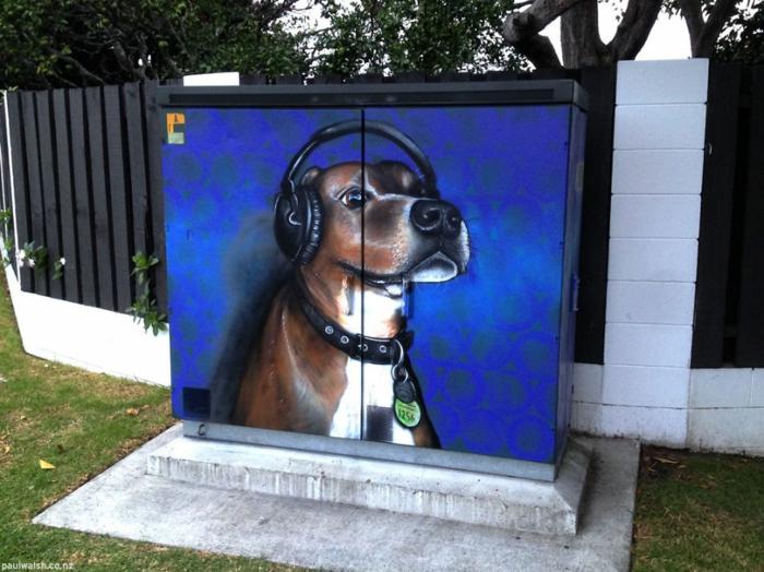 Streetart Künstler DJ Willis