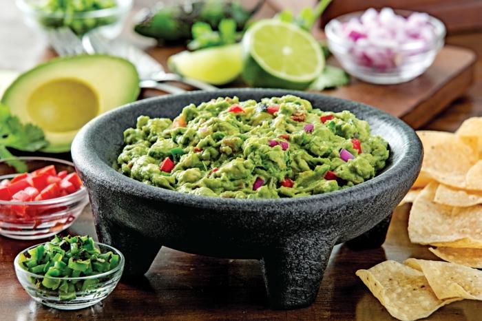 Vegane Brotaufstriche guacamole