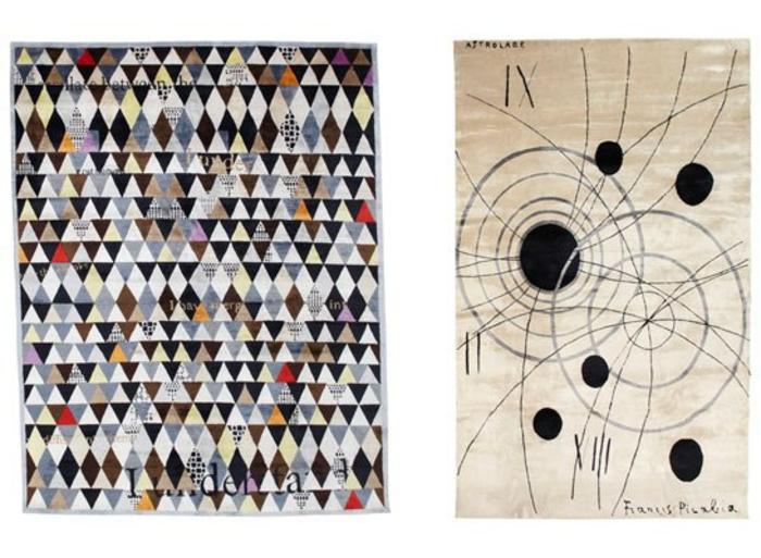 Wandteppich Sabine de Gunzburg atelier wanddeko ideen