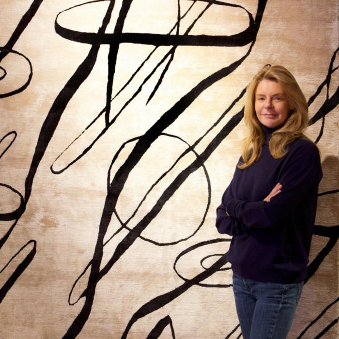 Wandteppich Sabine de Gunzburg atelier