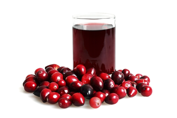 Was sind Cranberries frucht saft