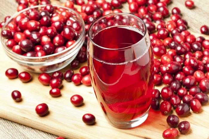 Was sind Cranberries mutter saft