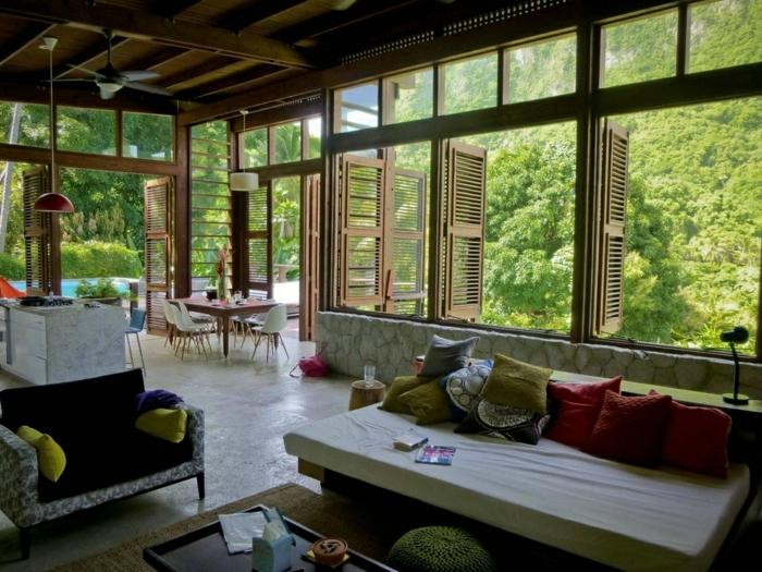 wohnzimmer einrichten 17 beispiele f r faszinierende. Black Bedroom Furniture Sets. Home Design Ideas