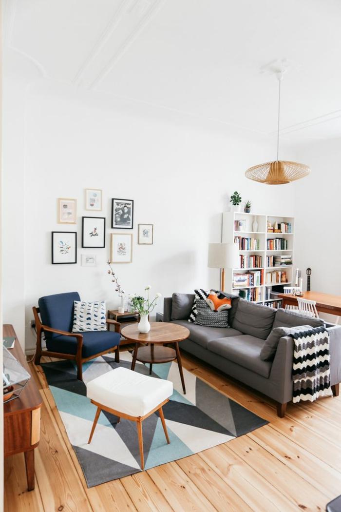 wohnzimmer möbel kombinieren — exquisiter farb- und stilmix, Mobel ideea