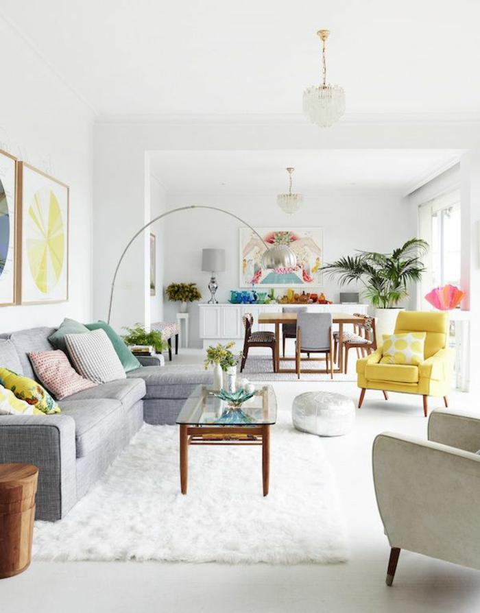modernes wohnzimmer gestalten wohnideen neutralfarben – marikana, Deko ideen