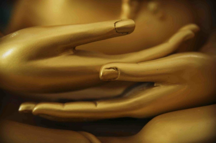 Yoga Mudra mudra beruhigt