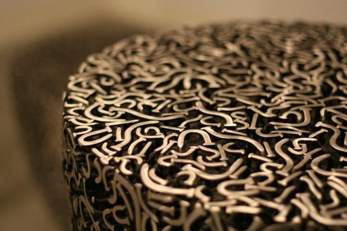 Zeitgenössische Kunst holz skulpturen sued korea holz wolle