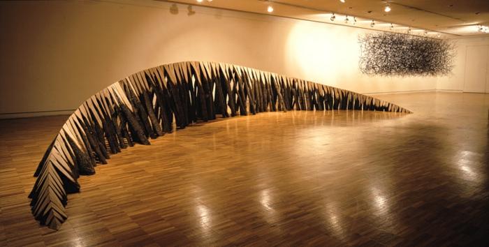 Zeitgenössische Kunst studio des künstlers bogen