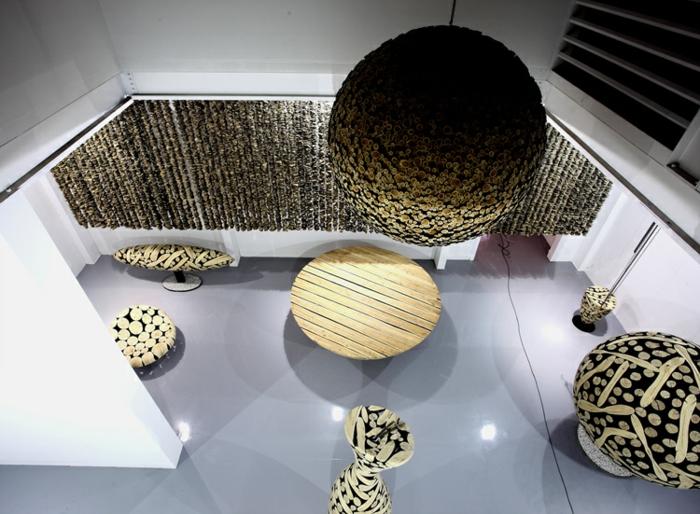 Zeitgenössische Kunst studio des künstlers figuren
