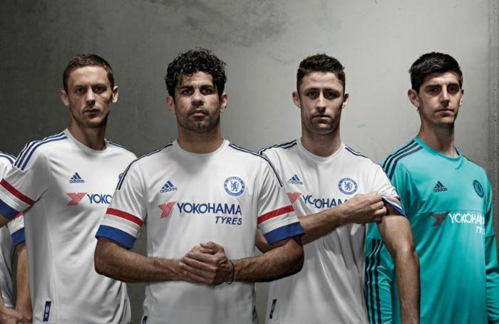 adidas away trikotsatz fußball trikots chelsea