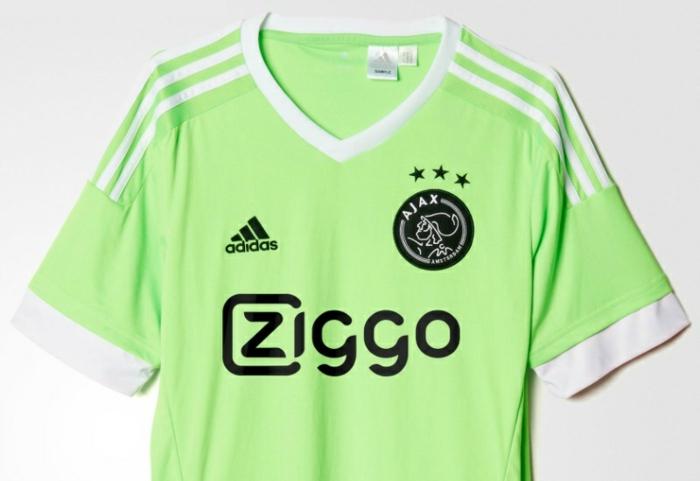 adidas trikotsatz 2015 2016 fußballtrikots ajax grün