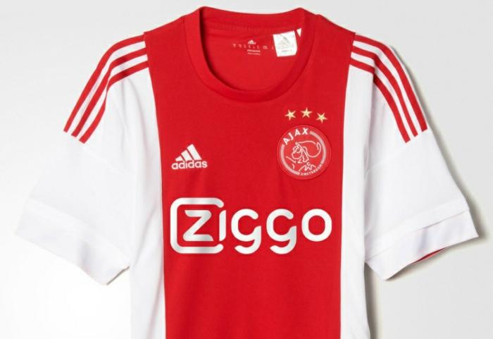 adidas trikotsatz 2015 2016 fußballtrikots ajax rot weiß