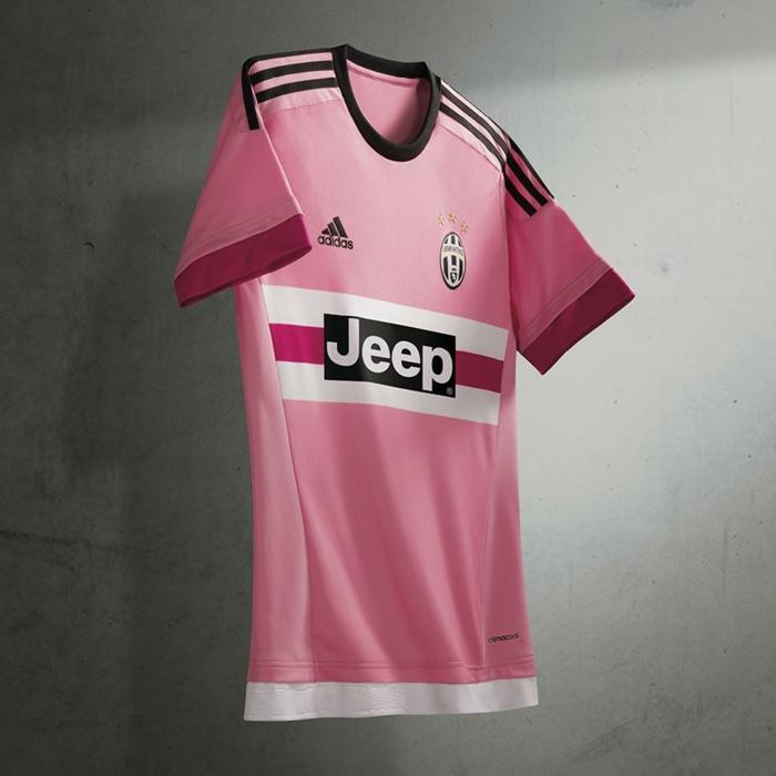 adidas trikotsatz 20152016 fußballtrikots juventus rosa