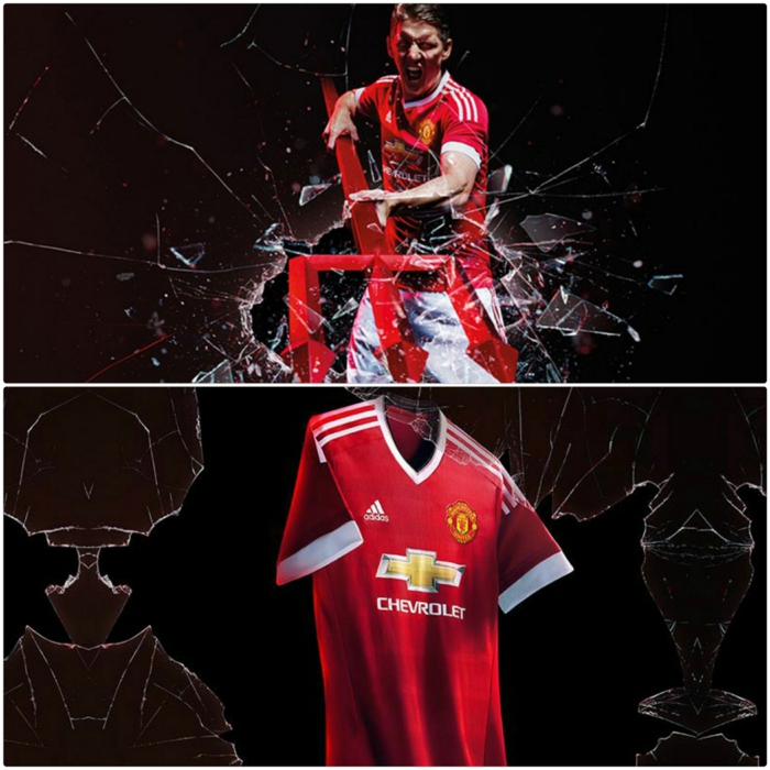 adidas trikotsatz 20152016 fußballtrikots manchester united red devils