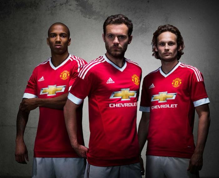 adidas trikotsatz 2015 2016 fußballtrikots manchester united