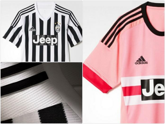adidas trikotsatz 20152016 juventus fußballtrikots