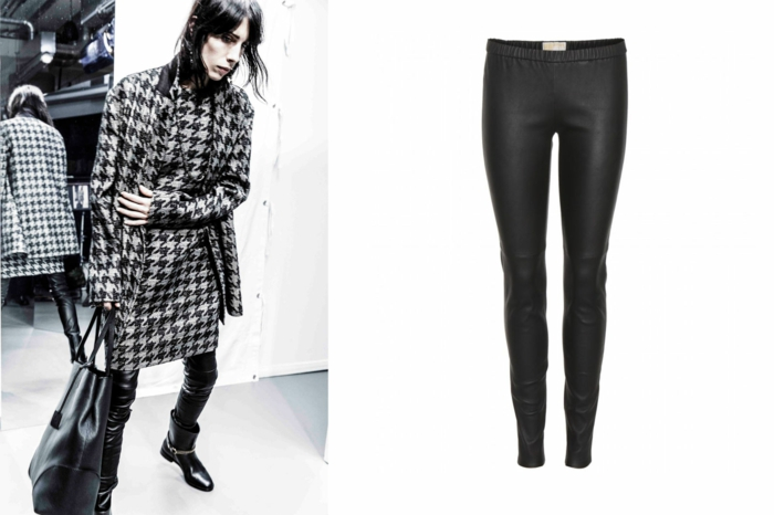 aktuelle modetrends dona karen enge hose schwarz stiefel